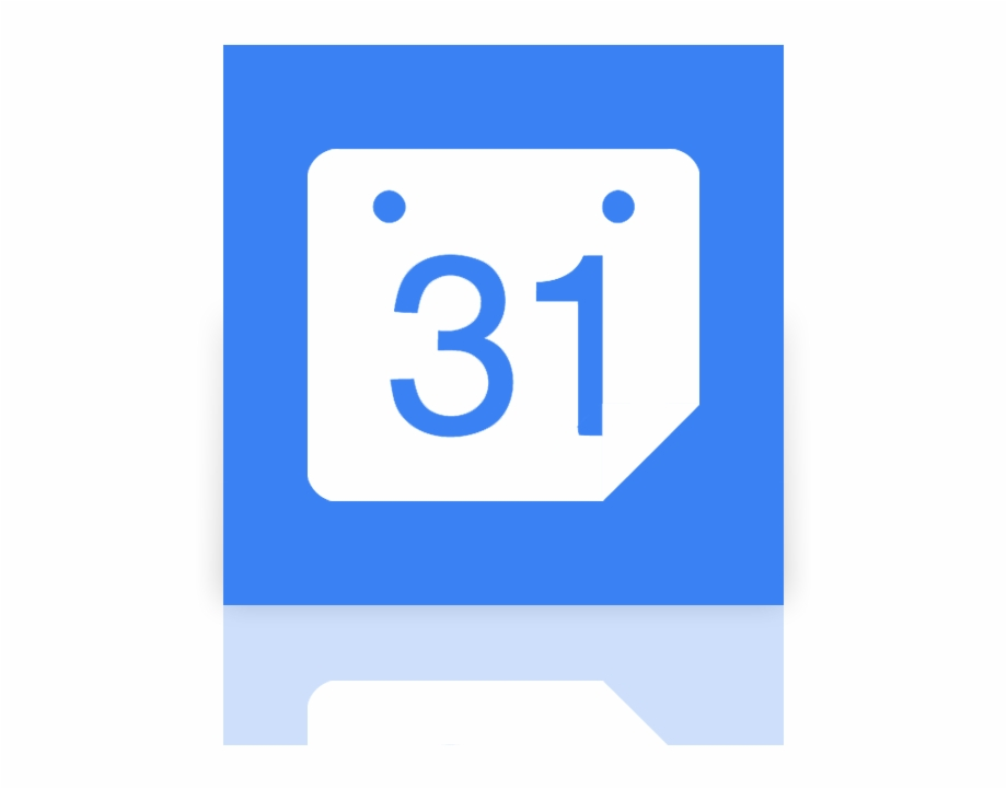 Google, Mirror, Calendar Icon.