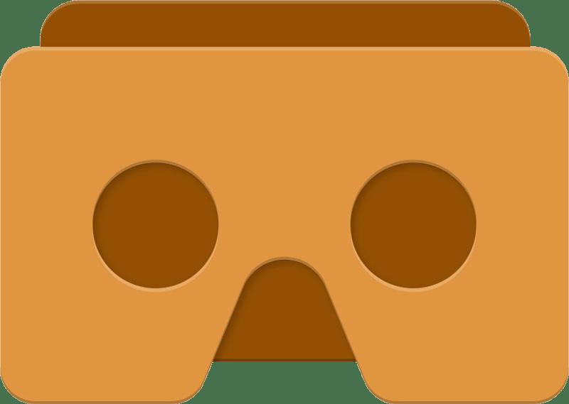 Google Cardboard VR Icon transparent PNG.