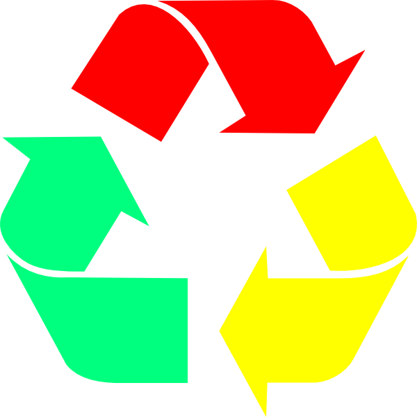 Recycle Chrome Logo Clip Art at Clker.com.