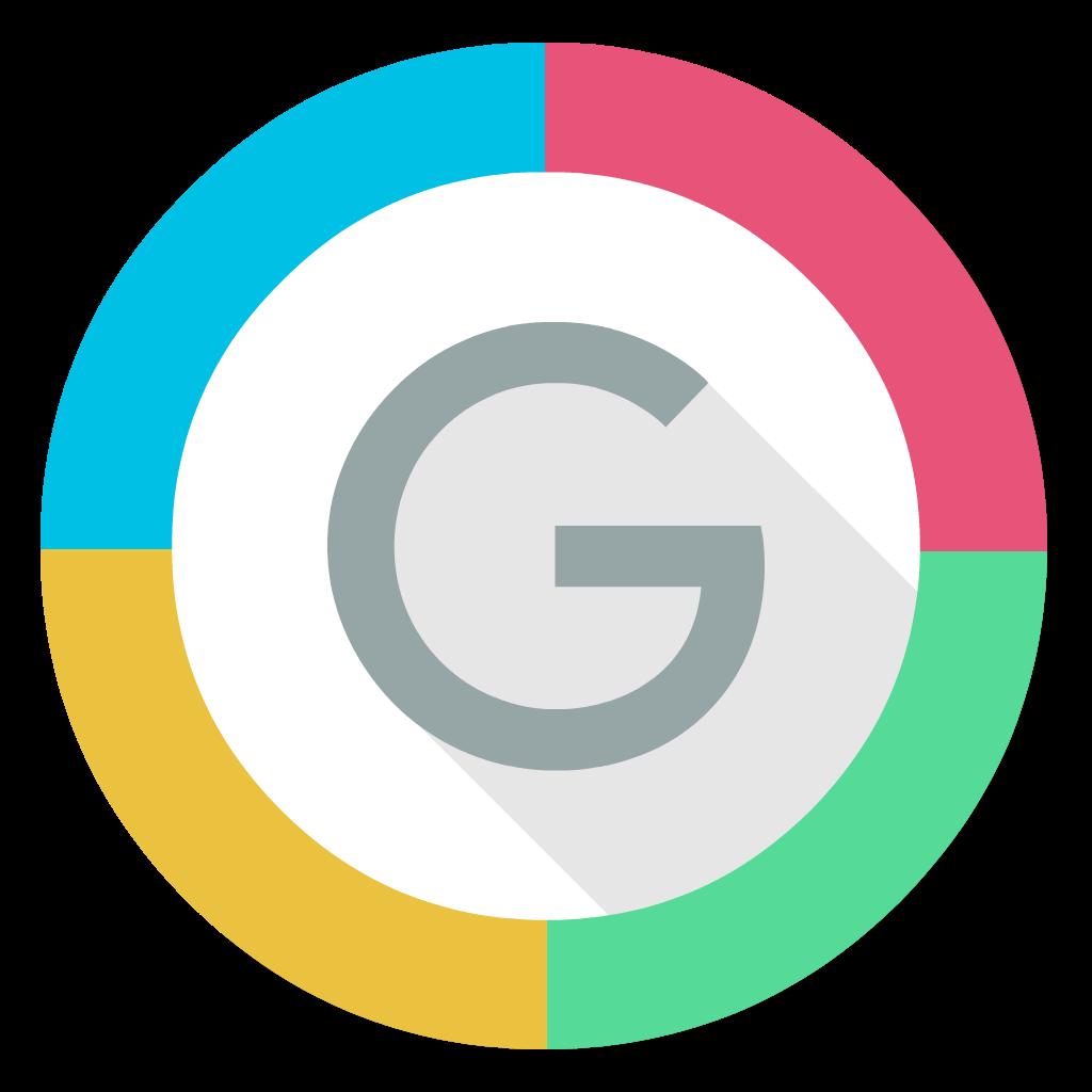 Showing post & media for Google chrome pink symbol.