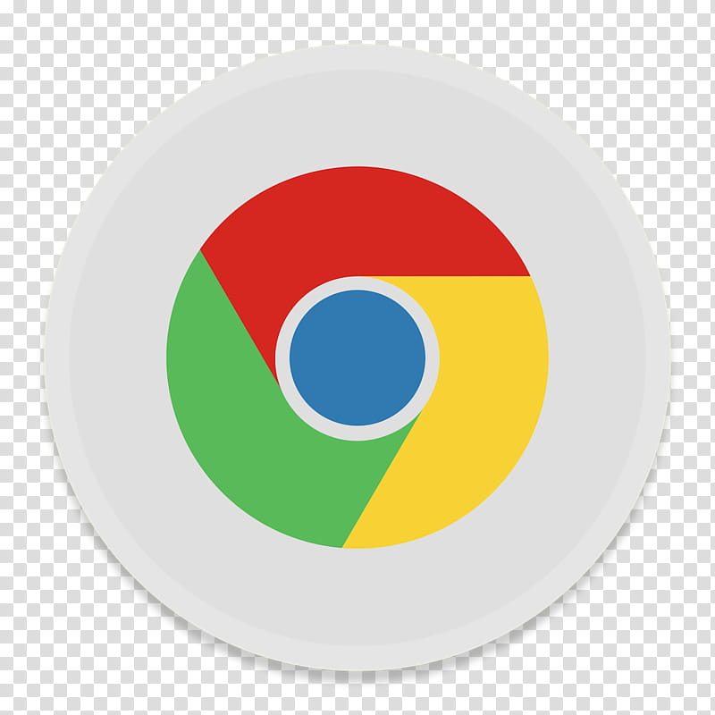 Button UI App One, Google Chrome icon transparent background.