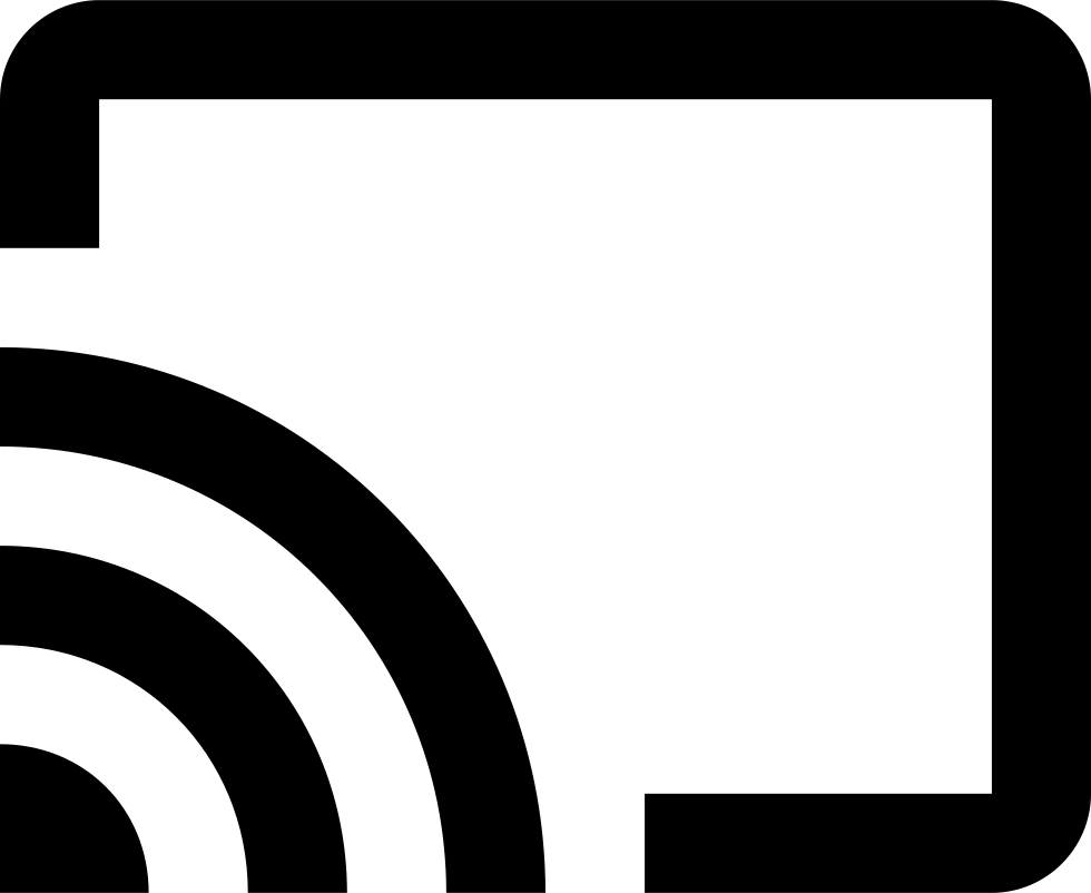 Google Cast Logo Svg Png Icon Free Download (#45244.