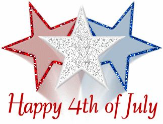 4th of July Clip Art and Animations.