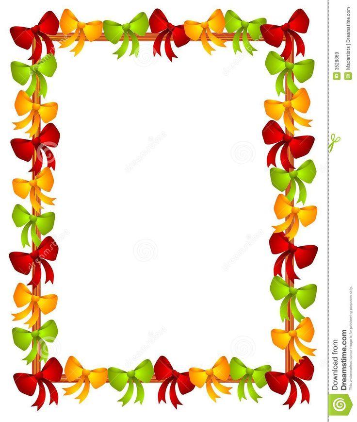 Free Christmas Borders Clipart.