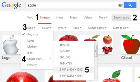 Cool Tips to Advanced Search Images / Photos Online.