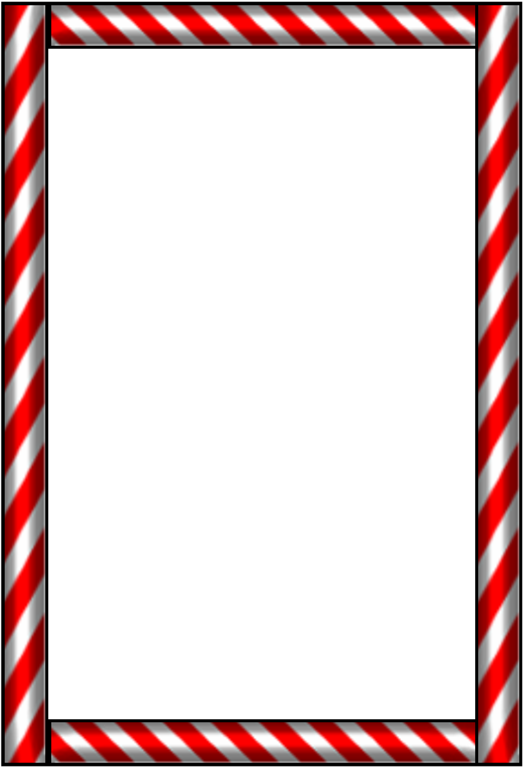candy cane clip art borders.