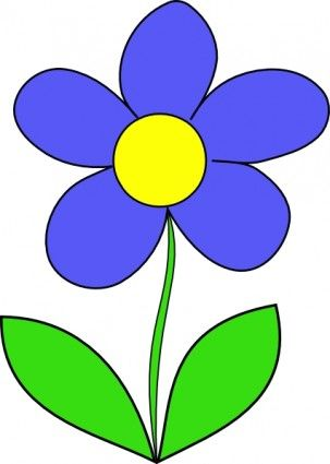 clipart flowers outline.
