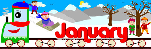Free January Clipart & January Clip Art Images.