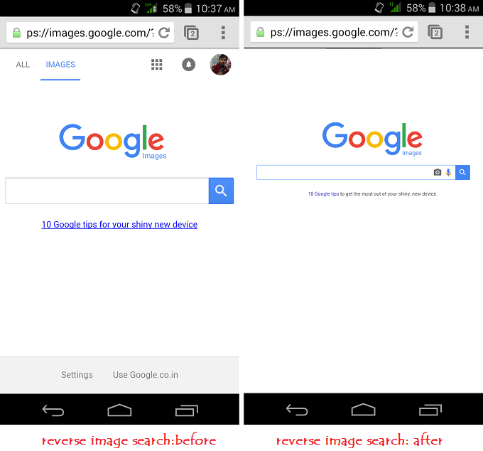 Use Google Reverse Image Search From Mobile and Desktop.