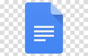 Android Lollipop Icons, Docs, Google Docs icon transparent.