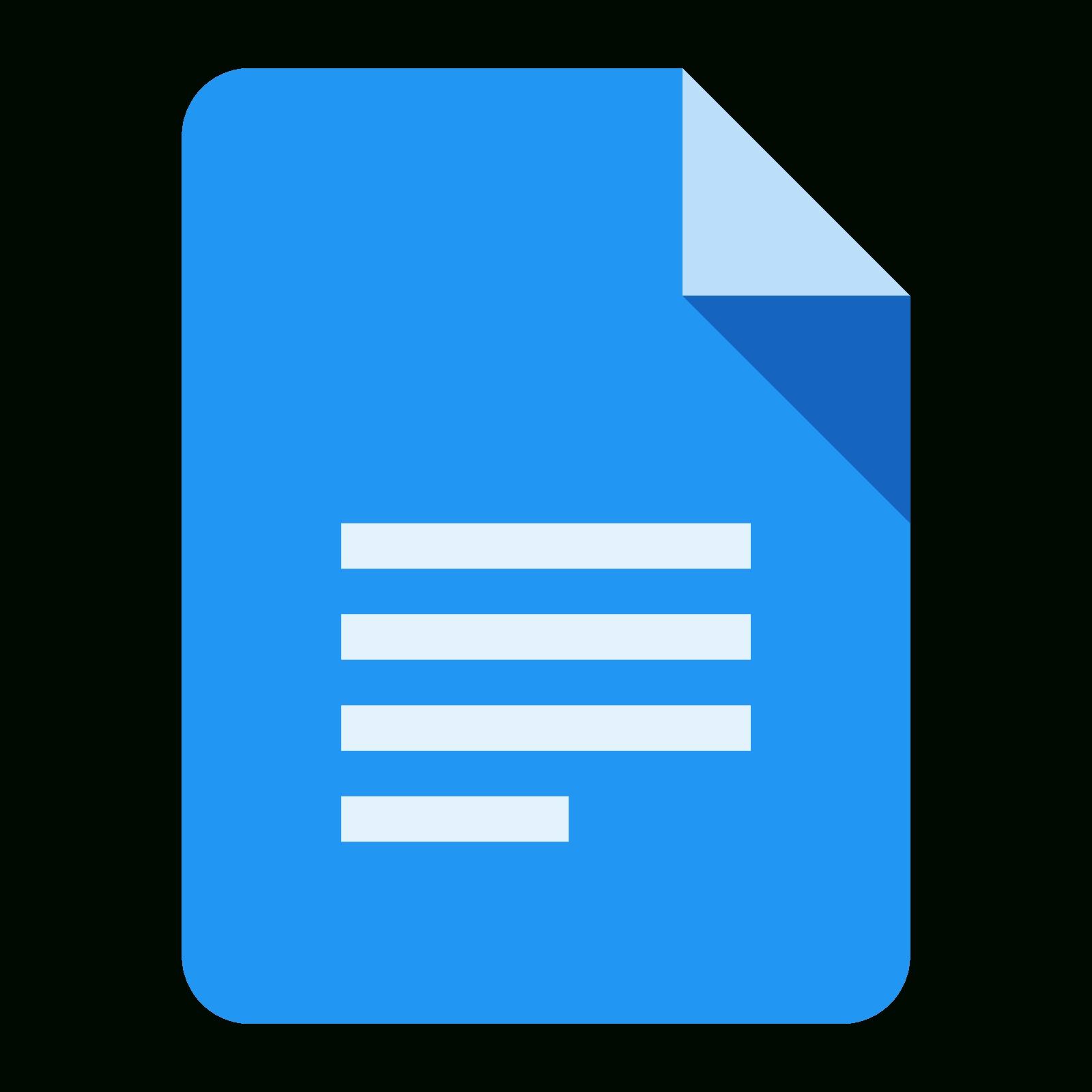 Google Docs Icon Png #90239.