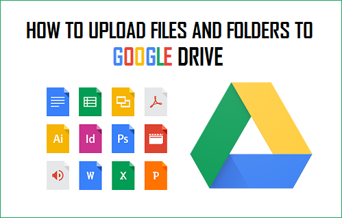 How to upload Files and Folders to Google Drive.
