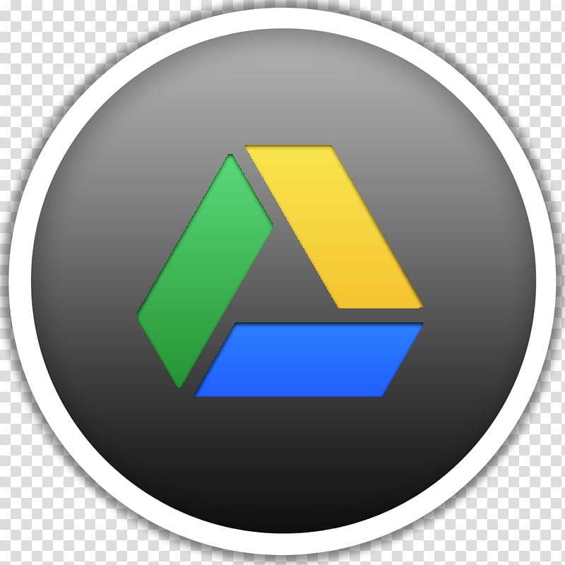 Dots, Google Drive logo transparent background PNG clipart.