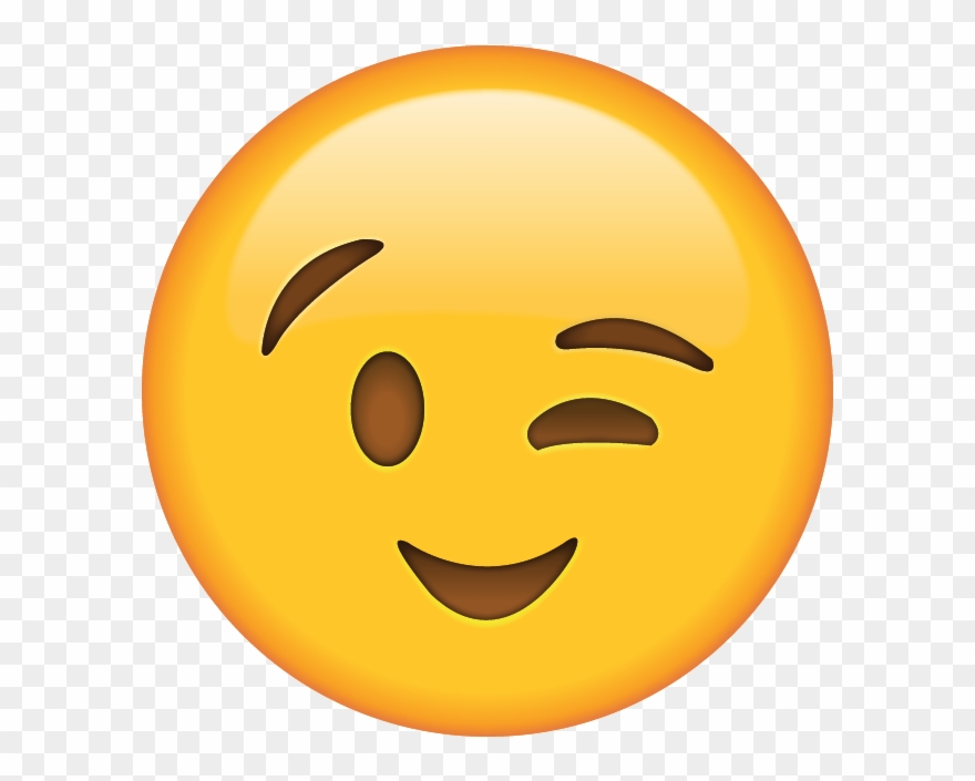 Wink Emoji Clipart Clipartuse.