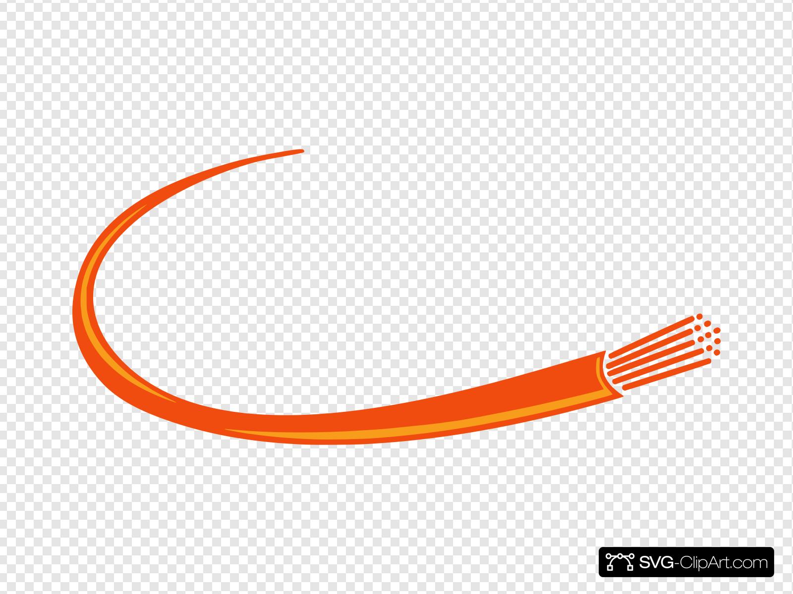 Orange Fusion Fiber Clip art, Icon and SVG.