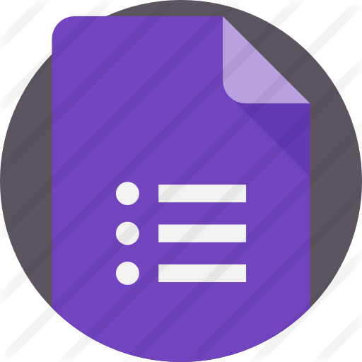 Google forms.