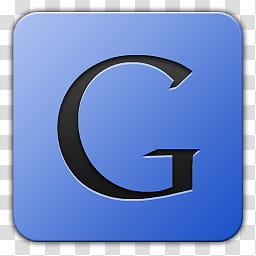 Icon , google, G icon transparent background PNG clipart.