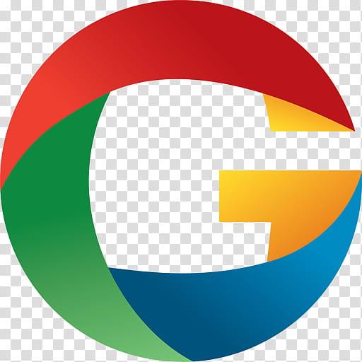 Google Chrome, multicolored G logo transparent background.