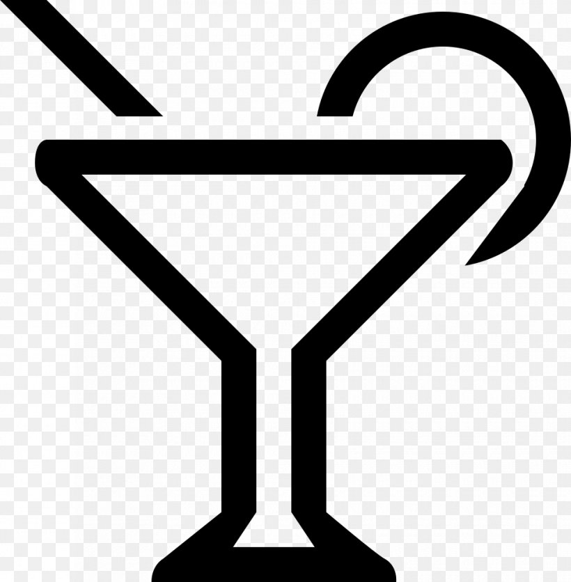 Martini Cocktail Glass Line Clip Art, PNG, 980x1000px.
