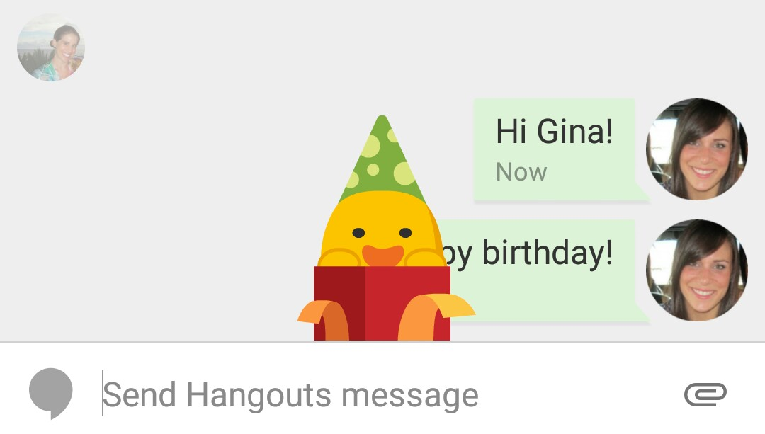 Google Hangouts for Android gets 'last seen' timestamps, smart.