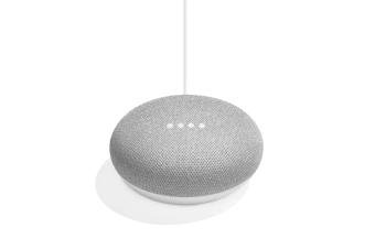 Google Home Mini (Chalk).