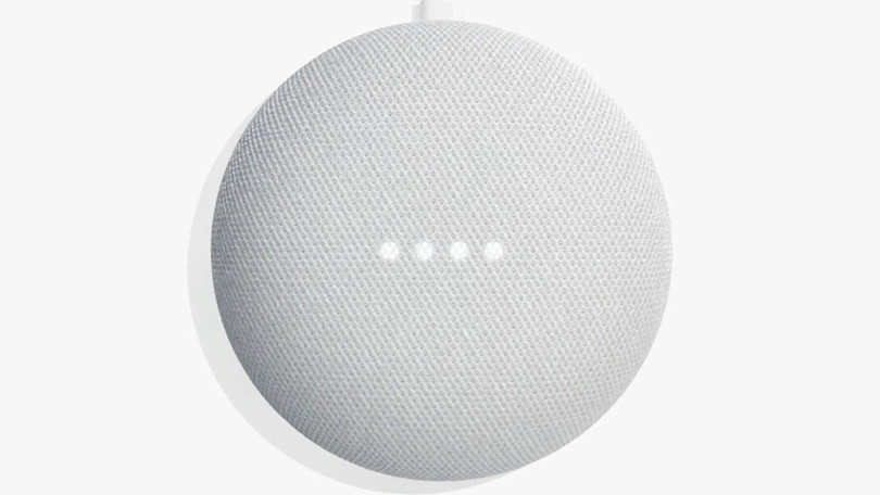 Google Home Mini.
