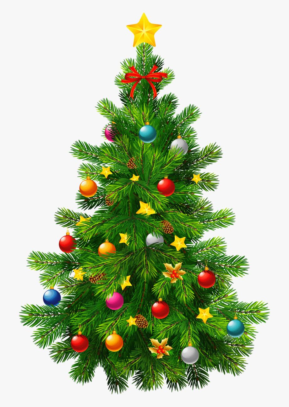 Christmas Tree Transparent Clipart.
