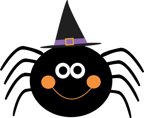 Spider Cute Halloween Clipart Library Free Images Transparent Png.