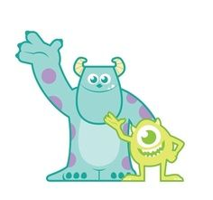 Sully monsters inc clipart.