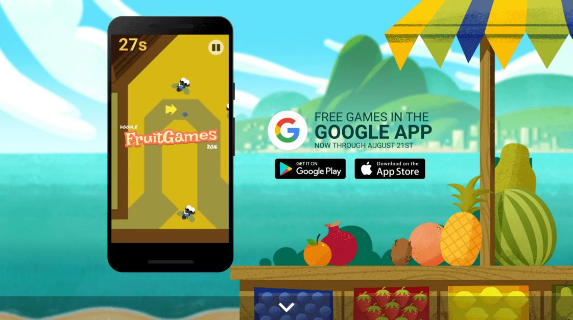 2016 Doodle Fruit Games.