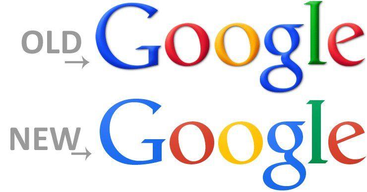 Google Change Logo.