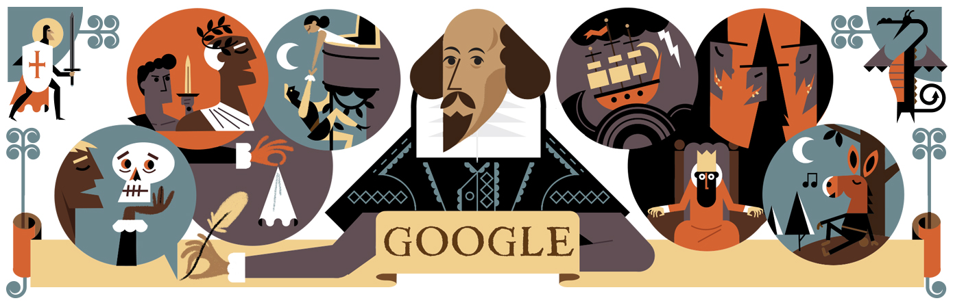 Celebrating William Shakespeare and St. George\'s Day 2016.
