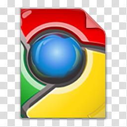 Google Chrome File Type Icon, ChromeFile, Google logo.