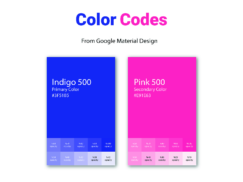 color code by M DESIGN on Dribbble.
