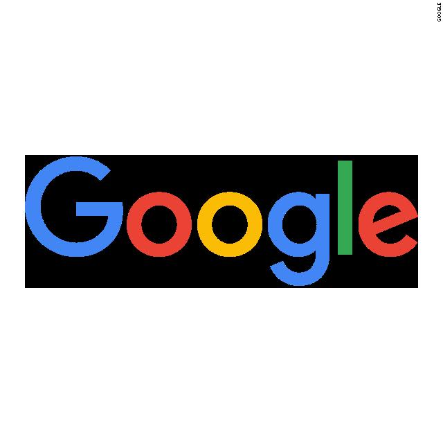 Google's logos through the years.