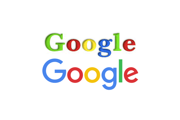 The History of the Google Logo, from 1997 to 2015.
