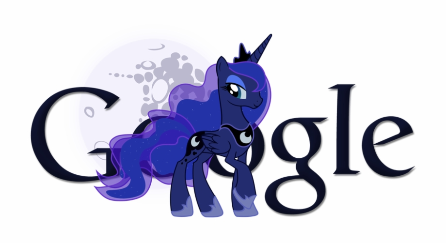Simple Princess Luna Google Logo Transparent Backgroundssumppg.