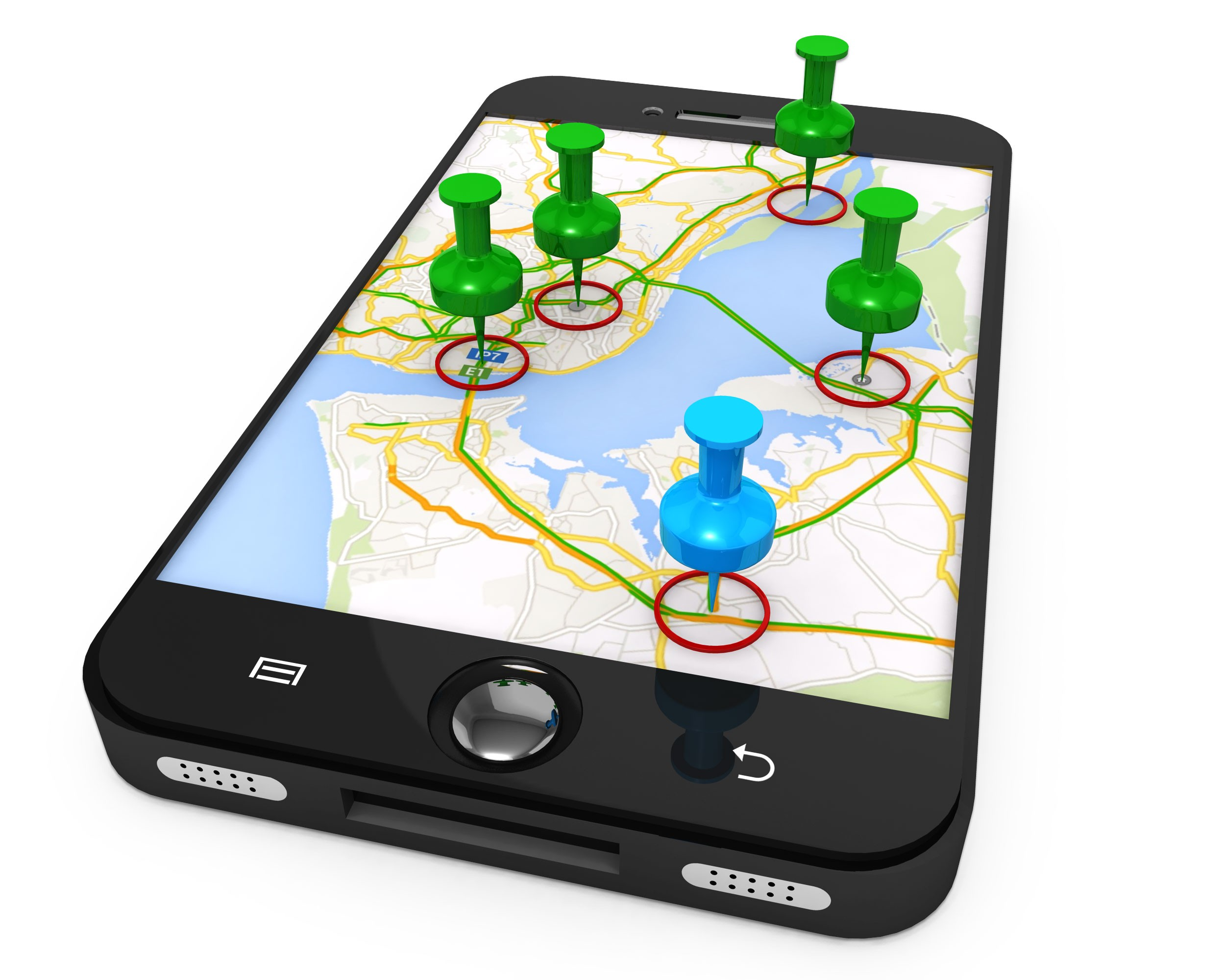 how to add multiple locations on google maps mobile