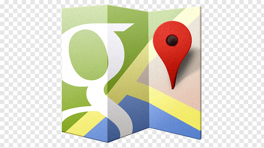Square brand material yellow, Google Maps, Google Map logo.