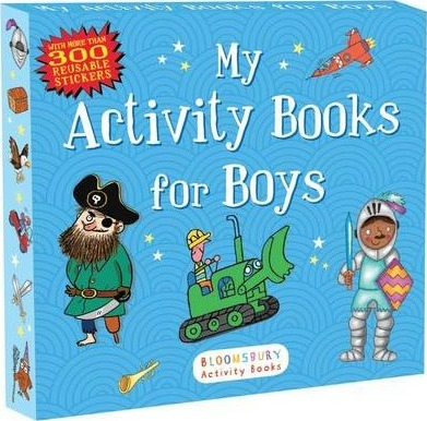 My Activity Books for Boys : Anonymous : 9781619636392.