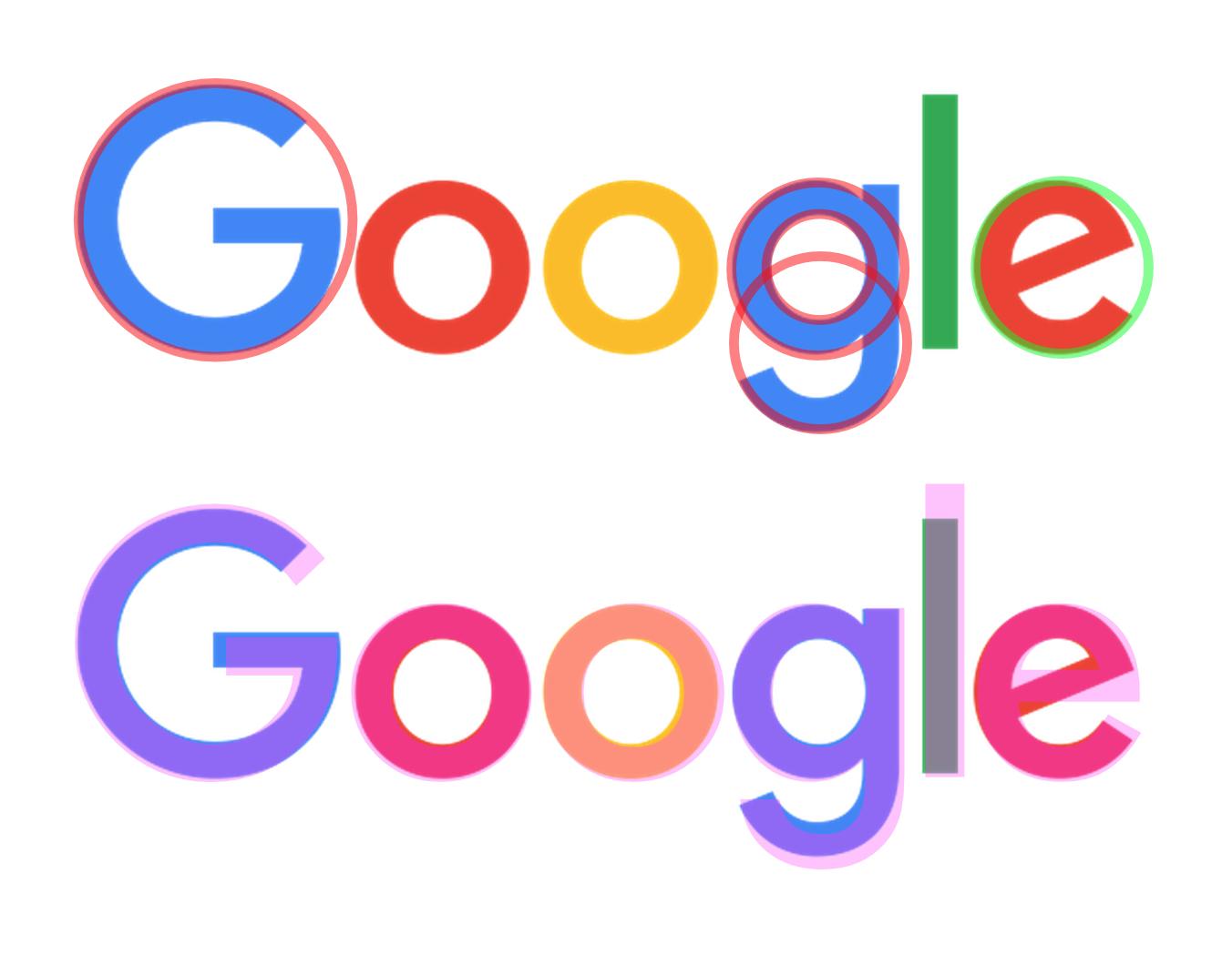Google's New Logo.