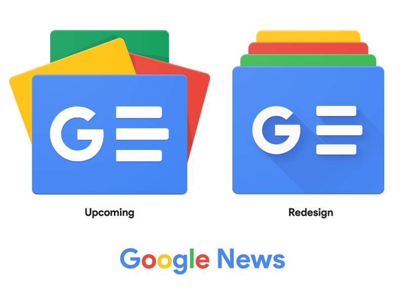 Upcoming Google News Icon Redesign by Sajid Shaik on Dribbble.