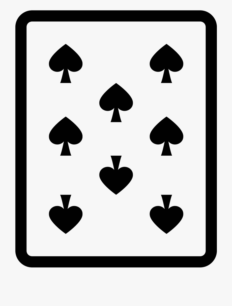 8 Of Spades Icon Clipart , Png Download , Transparent.