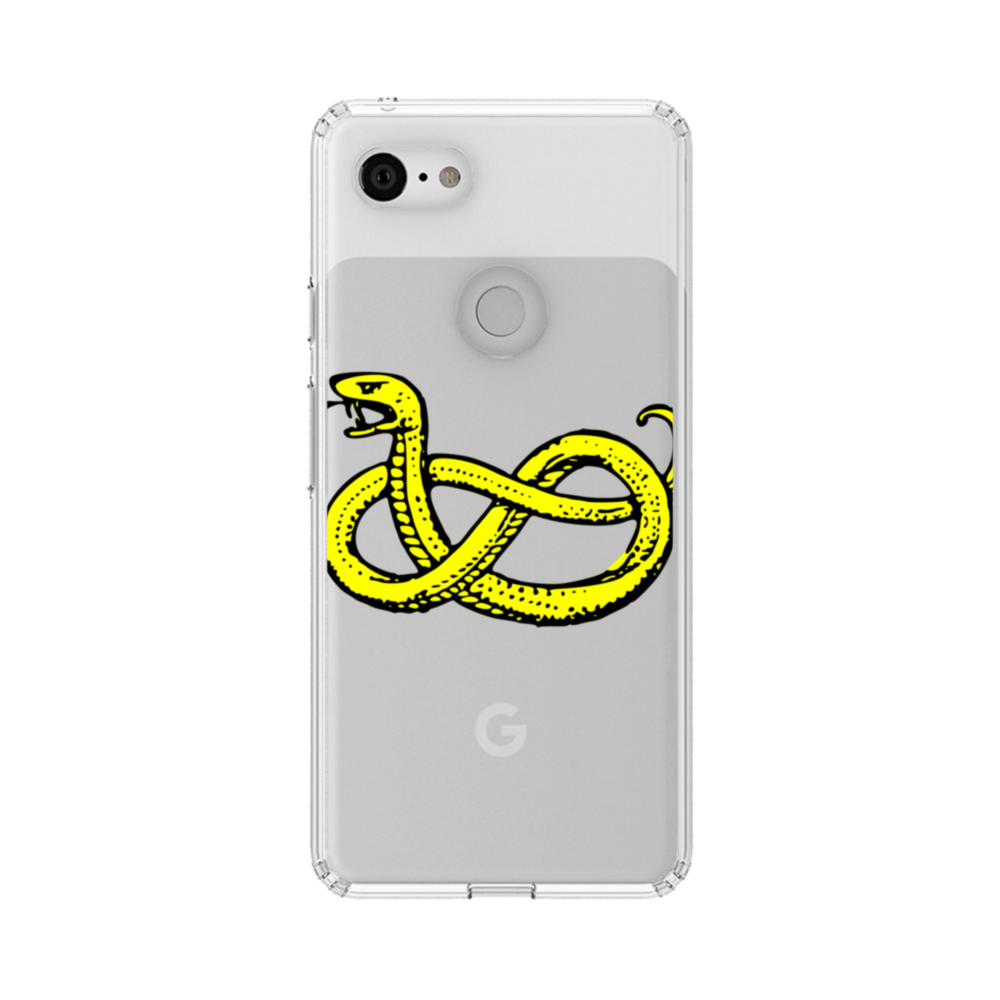 Clipart Of Snake Google Pixel 3 Clear Case.