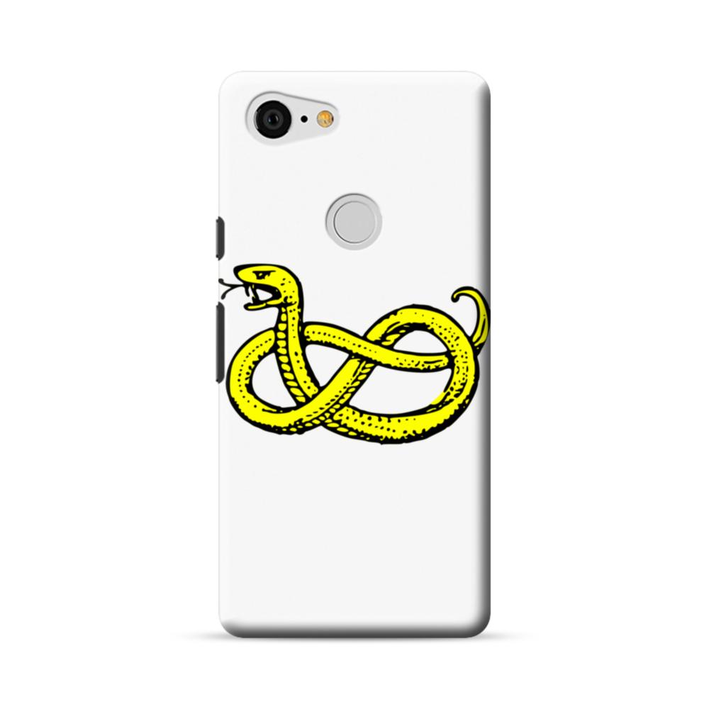 Clipart Of Snake Google Pixel 3 XL Case.