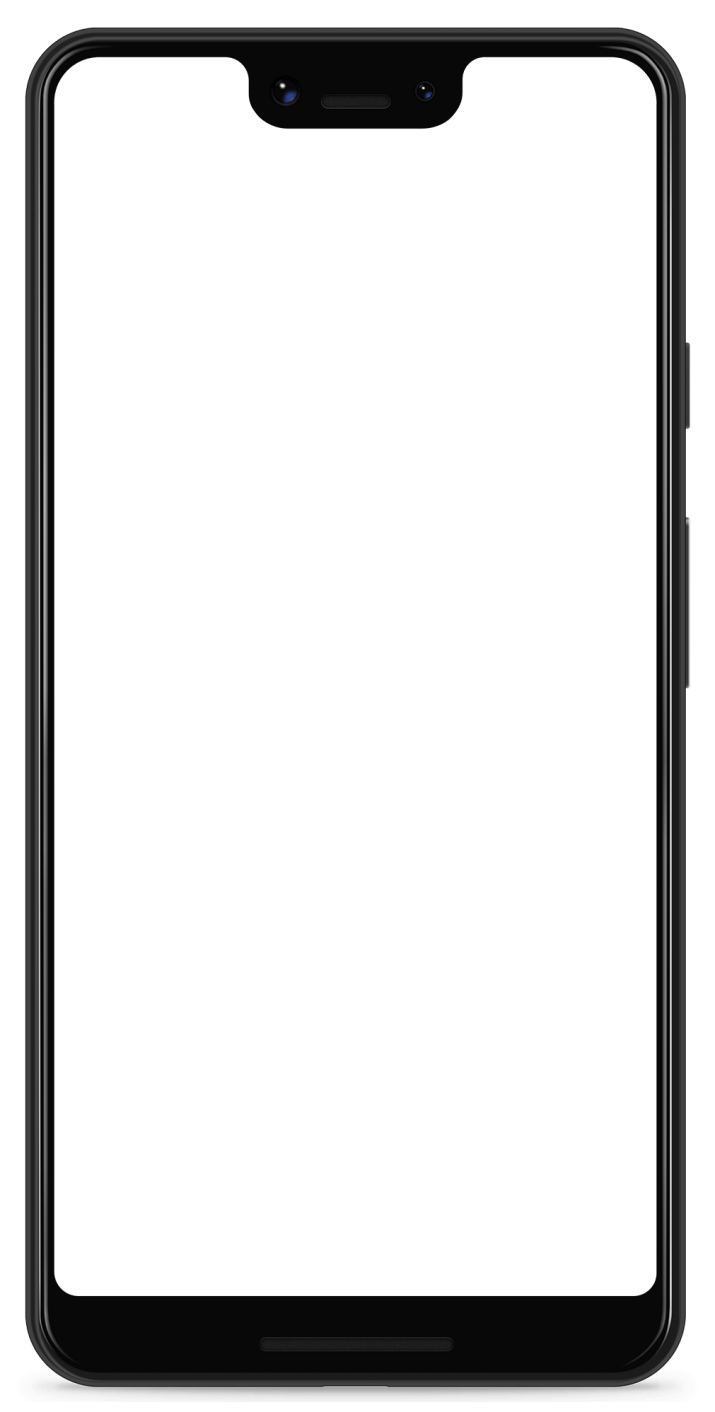 Google Pixel 3 XL Transparent Phone.