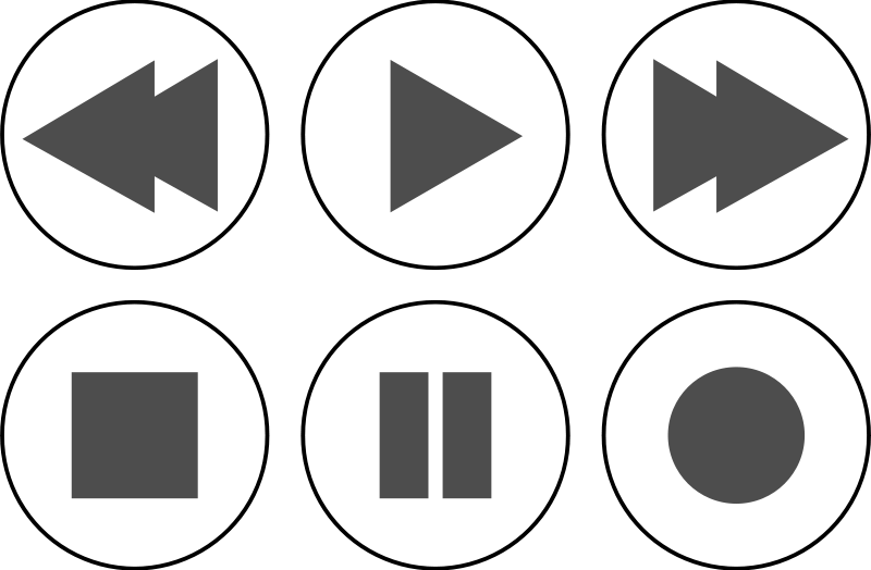 Free Clipart: Icon Set Player.