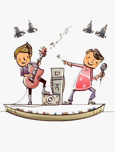 Play Music Kids PNG, Clipart, Cartoon, Child, Guitar, Kids.