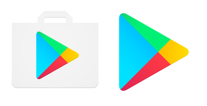 Google Play Store Logo Bids Goodbye to the Shopping Bag in Their Icon.