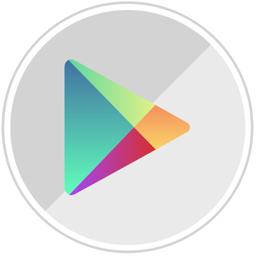 Android, google, googleplay, market, online, shopping, store icon.